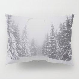 Winter walk - Landscape and Nature Photography Pillow Sham