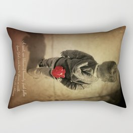 Blossom of humanity Rectangular Pillow