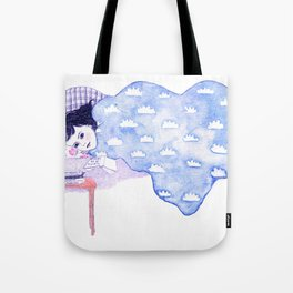 Birthday morning (with a glass of redcurrant juice) Tote Bag