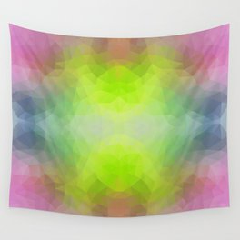 """Disco vibes"" triangles design Wall Tapestry"