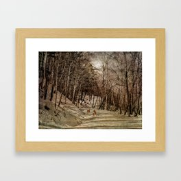 Mountain Path Framed Art Print