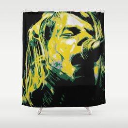 COBAIN UNPLUGGED Shower Curtain
