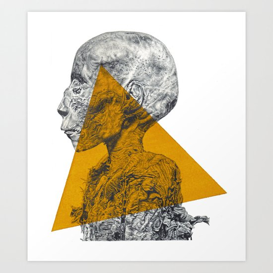 Pharaoh's Profile Art Print