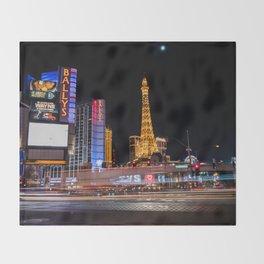 Las Vegas Throw Blanket
