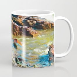 North Shore Rocks Coffee Mug