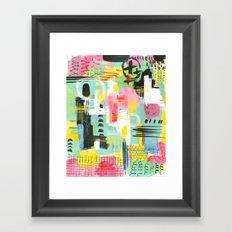 Cityskape Framed Art Print