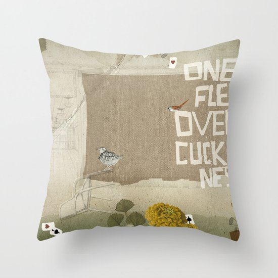 one flew over the cuckoos nest Throw Pillow
