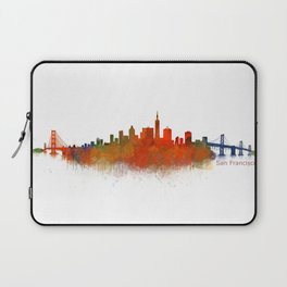 San Francisco City Skyline Hq v2 Laptop Sleeve