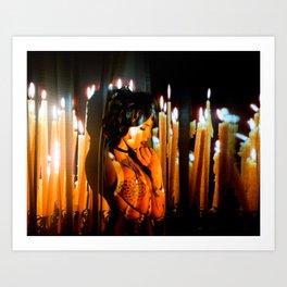 Burnt Offerings Art Print