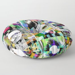 SOUL COLLAGE Floor Pillow