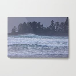 Pacific Northwest Storm Metal Print
