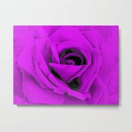 Modern Purple Rose Art A226c Metal Print