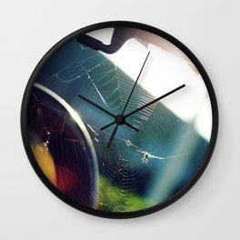 Spiderweb Bike Wall Clock
