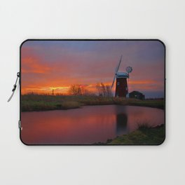 Horsey Windpump 01 Laptop Sleeve