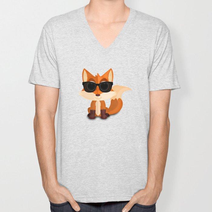 Cool Fox Unisex V-Neck