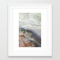 agate Framed Art Prints featuring Agate  by Debbie Carlos