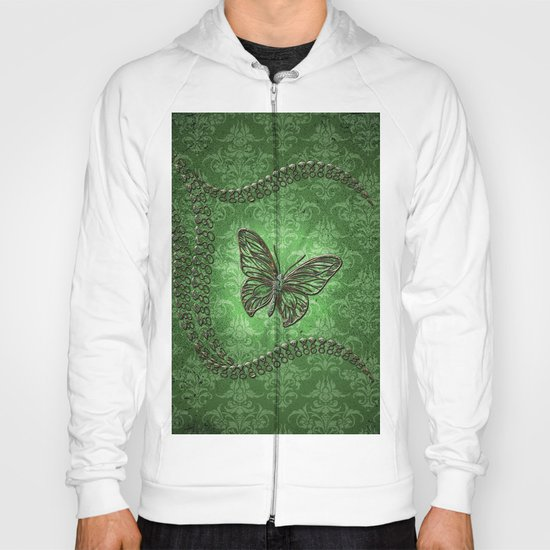 Decorative butterfly Hoody
