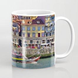 Ribeira houses, Oporto Coffee Mug