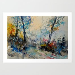 watercolor 213020 Art Print