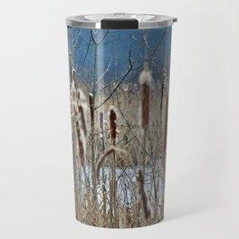 Cattail, Bulrush and Wetlands Travel Mug