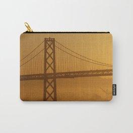 Stunning California Golden Sunrise Carry-All Pouch