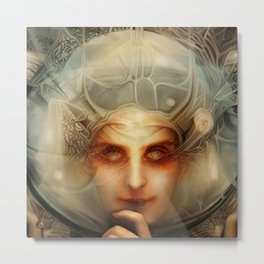 The Chimera Metal Print
