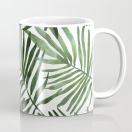 Watercolor simple leaves Coffee Mug