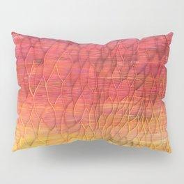 Desert Sunset Pattern Pillow Sham