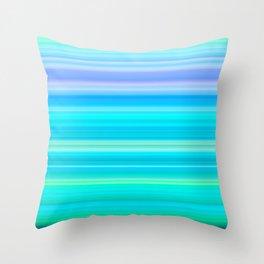 Summer Breeze Gradient Throw Pillow