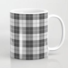 Clan Erskine Tartan // Black & White Coffee Mug