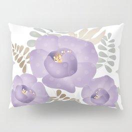 Light lilac roses. Pillow Sham