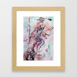 Wut & Ohnmacht Framed Art Print