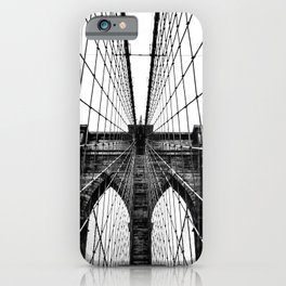 Brooklyn Bridge Web iPhone Case