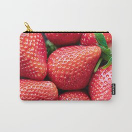 Fresh healthy strawberries Carry-All Pouch