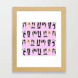 Circle jerk_orgy mix Framed Art Print