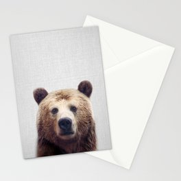 Bear - Colorful Stationery Cards