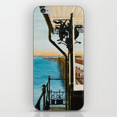 Ryde Pier and Shelter iPhone & iPod Skin