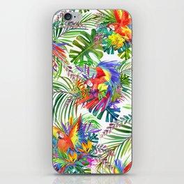cute wild parrot iPhone Skin