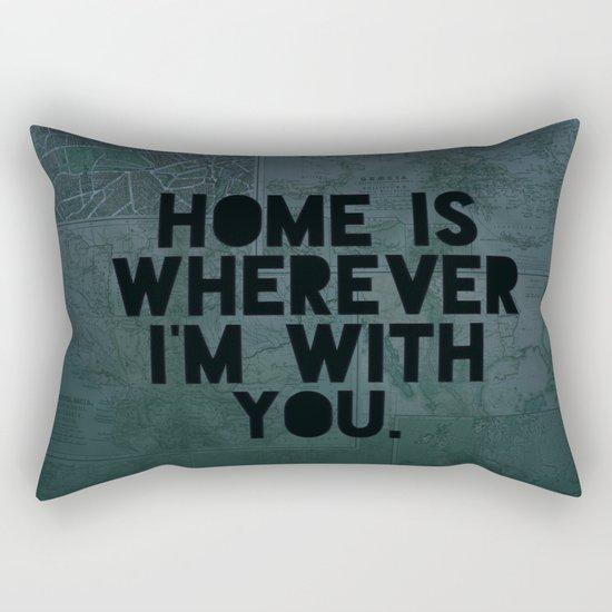 With You II Rectangular Pillow