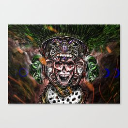 Our lord, the flayed Canvas Print