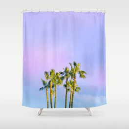 Summer Dreams with Palms Shower Curtain