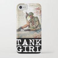 tank girl iPhone & iPod Cases featuring Tank Girl by Joe Badon