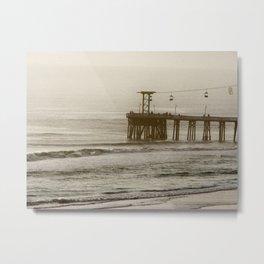 Daytona Pier Metal Print