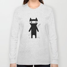 Ninja Cat Long Sleeve T-shirt