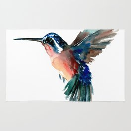 Flying Hummingbird Rug