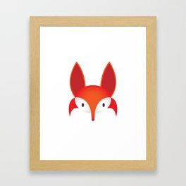 The Red Fox Framed Art Print