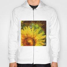 van Gogh styled sunflowers version 3 Hoody