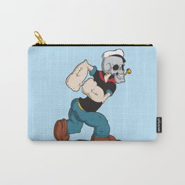 Olive Loves a Skull Carry-All Pouch