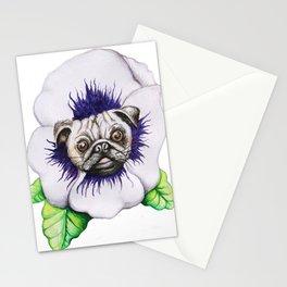 Pansy Pug Stationery Cards