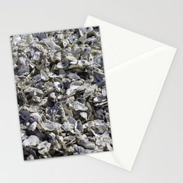 Shucked Oyster Shells Stationery Cards